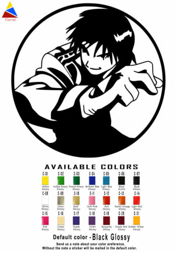 Anime Vinyl Decal Stickers Car Window Art アニメ Manga Japanese Computer USA Seller