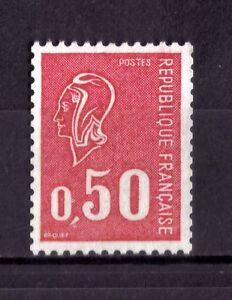 N° 1664b (n° rouge au verso) NEUF** - France - Pays: France Année d'émission: 1971 1975 Format: Unit Qualité: Neuf sans trace de charnire Région: Europe - France