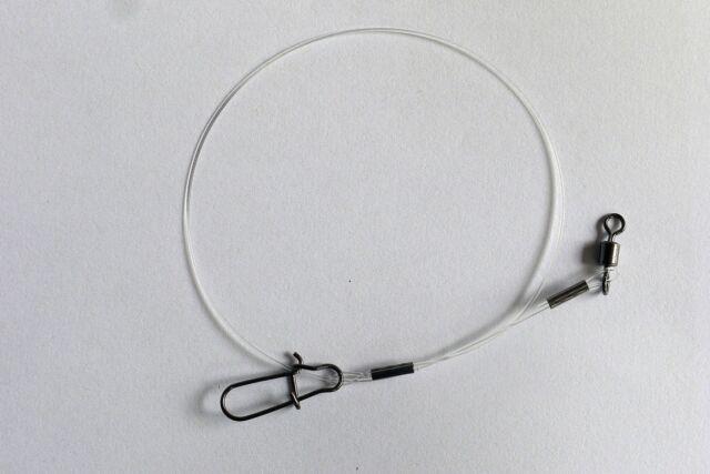 Hardmono Fluocarbon - Vorfach, Raubfischvorfach von Profi Blinker