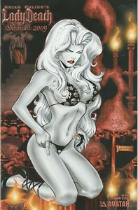 LADY DEATH SWIMSUIT  2005  NM  MOMENT OF VARIANT   AVATAR
