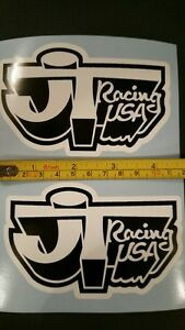 JT Racing sticker AHRMA Vintage Motocross VMX CR YZ RM 125 250 360 400 465 500