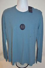 ARMANI JEANS Man's Long Sleeved LOGO T-shirt   NEW Size Large