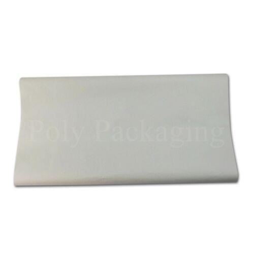 """per alimenti negozio di chip 500x750mm BIANCO Carta da imballaggio PROTEZIONE CASA spostare 20x30/"""""""