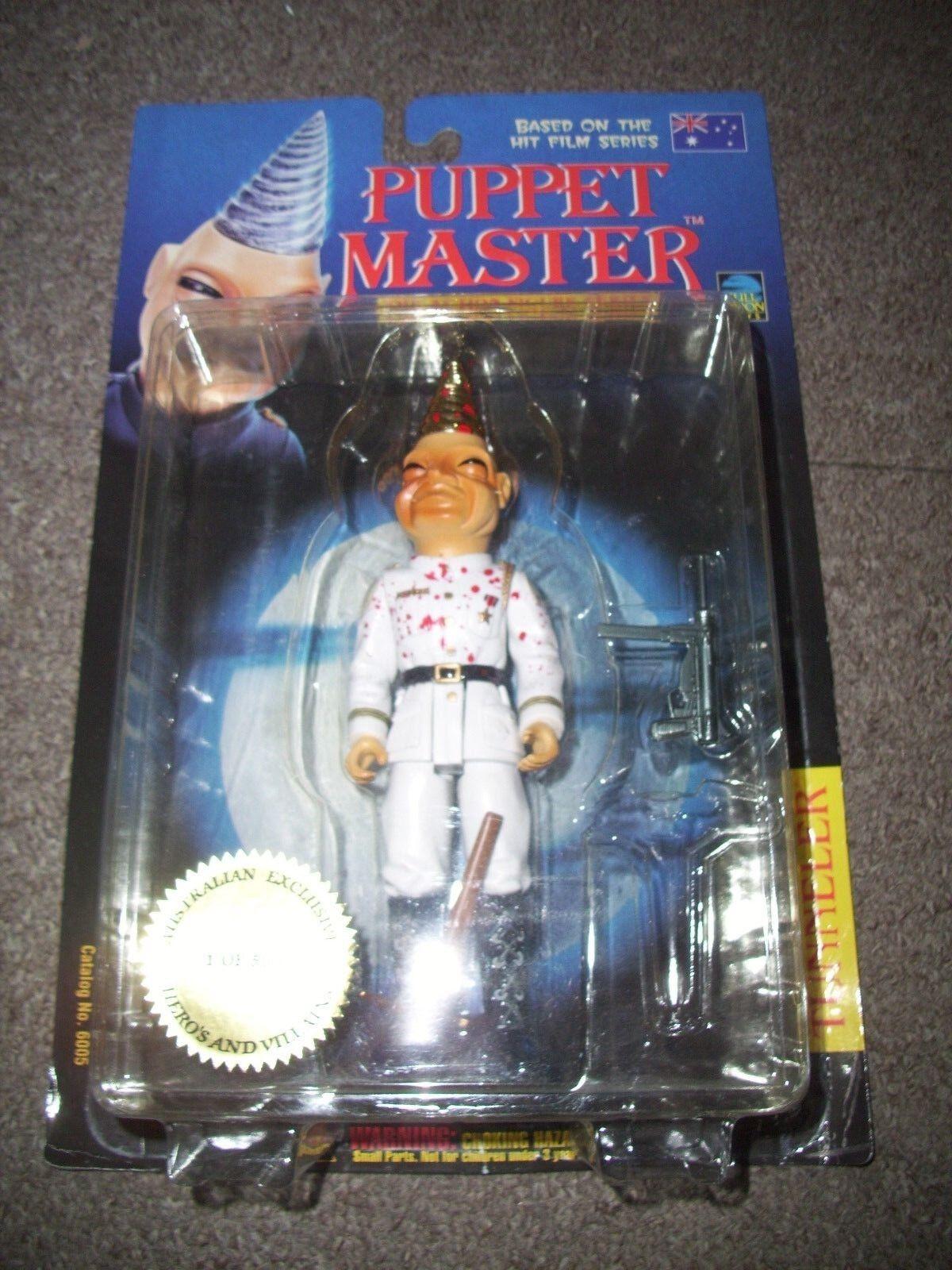 marca Puppet Puppet Puppet Master-Tunneler-Figura. australiano Exclusivo. Sellada  Envío 100% gratuito