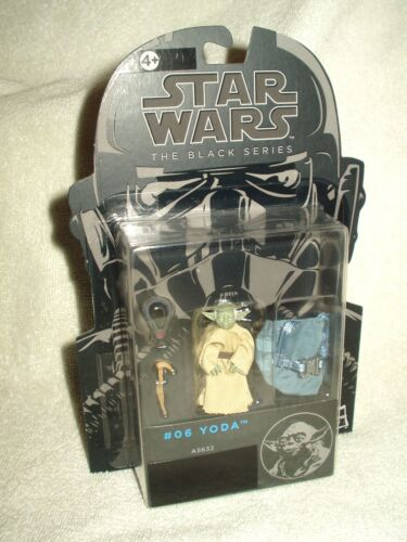 Action Figure Star Wars The Black Series #06 Yoda 2 inch