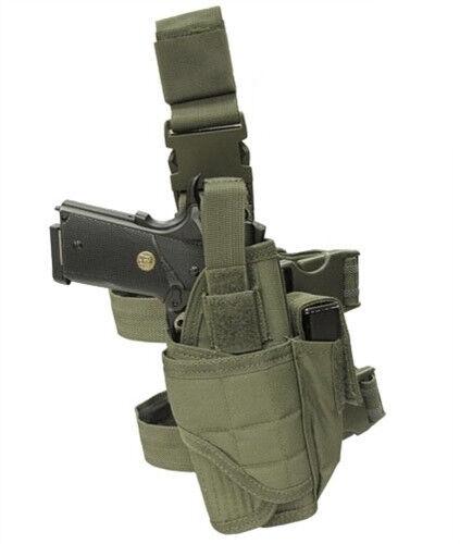Condor TTLH Tornado Tactical Leg Holster OD Green Adjustable M to L size pistol