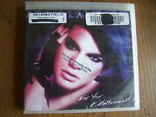 Adam Lambert For Your Entertainment CD Box54-1C