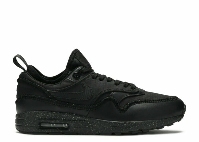 Nike Air Max 1 Ultra 2.0 SI Black Dark Grey Women's Sneakers Shoe Size 6.5 NIB