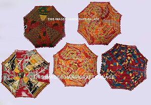 50867f3083dec Wholesale Lot of 10 PC Indian Sun Umbrella Parasol Vintage Kantha ...