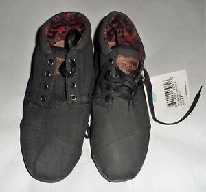 Toms Highlands Wool Black Maest Boots men's size 8.5 NWT