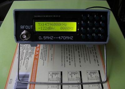 0 5Mhz-470Mhz-RF-Signal-Generator-Meter-Tester-For-FM-Radio-walkie-talkie-debug  | eBay