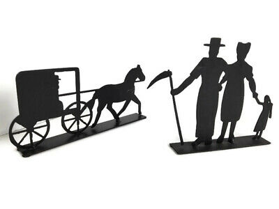 Amish carriage | Etsy |Metal Horse And Buggy Silhouette