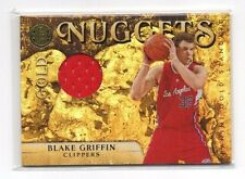 Blake Griffin 2010-11 Panini Gold Standard, Gold Nuggets,(Memorabilia), /199 !!
