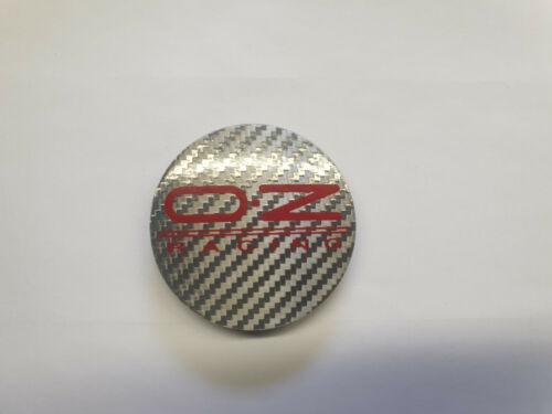 55 mm Ultraleggera 81310444 Carbon Silber OZ Nabendeckel // Nabenkappe