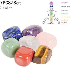 7pcs-Set-Natural-Chakra-Stone-Crystal-Reiki-Healing-Energy-Palm-Stone-Home-Decor