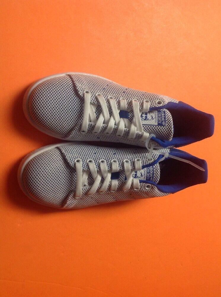 adidas stan smith mono casual weißer schuhen - blau - weißer casual s81874 us - jugend 6,5 1e44a3