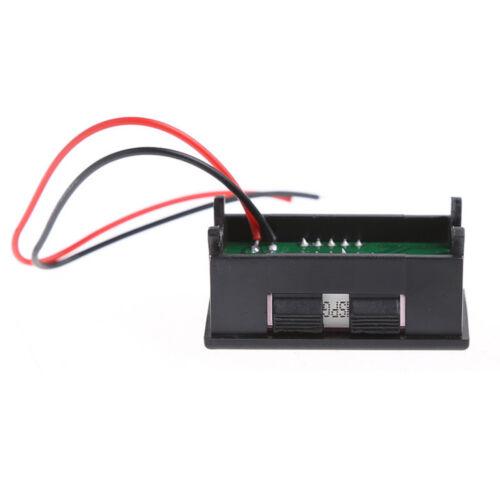 12V Digital LED Acid Lead Batteries Indicator Battery Capacity Voltmeter BSG