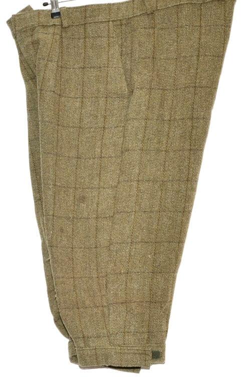 GREAT VINTAGE TWEED HERRINGBONE WINDOWPANE BREEKS WITH LINING W38
