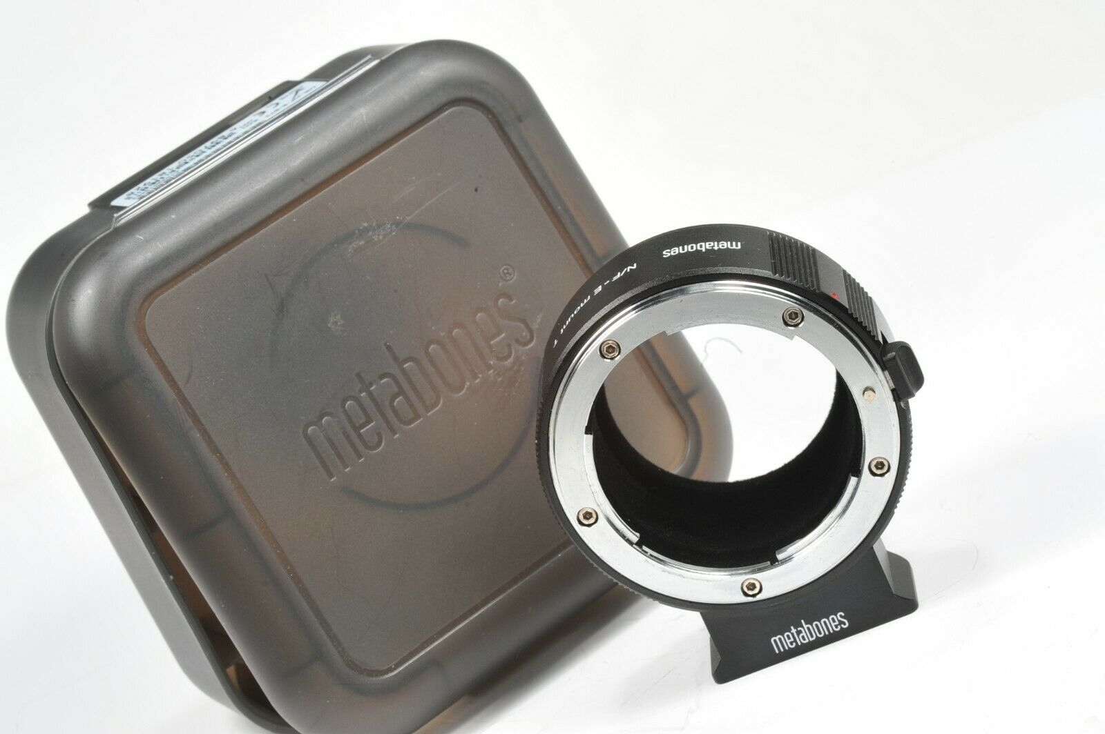 METABONES adapter NIKON F to SONY E-mount, tested on Alpha a7 a6000, MB_NF-E-BT2