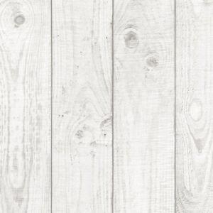 White Faux Wood Grain Planks 3 5 Wide