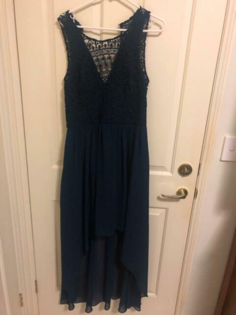 Forever New Navy Lace Dress Size 14