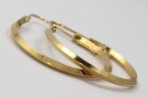 14k-Yellow-Gold-Ladies-Hoop-Earrings