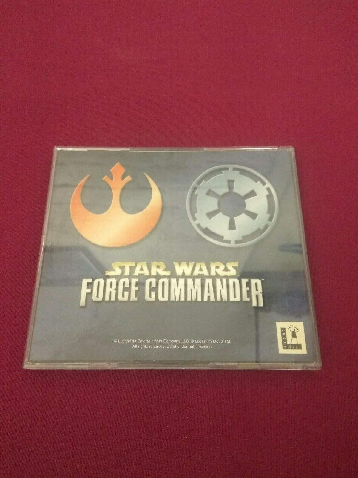Star Wars: Force Commander PC CD ROM free - Occasion StarWars