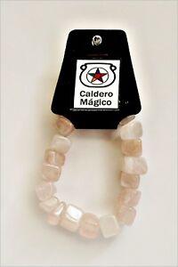 Cuarzo-Rosa-pulseras-de-minerales-Pink-Quartz-bracelets-R