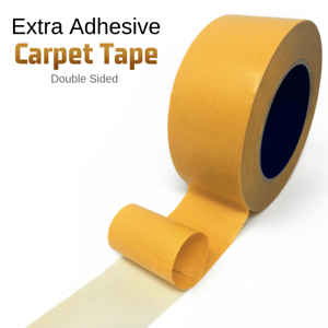 25M Double Side Extra Strong Adhesive Sticky Multipurpose Carpet Tape Heavy Duty 5027785811190