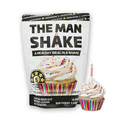 Cool The Man Shake Birthday Cake Flavour One Week Supply 15 Meals Funny Birthday Cards Online Alyptdamsfinfo