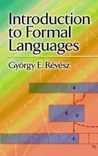 Introduction to Formal Languages by Gyorgy E. Revesz (2012, Paperback)
