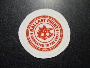 """BALLAST POINT BREWING sculpin 1.25/"""" circle STICKER decal craft beer brewery"""