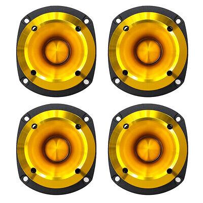 "2 pcs HyperPower TW-35S 3.5/"" Compact Bullet Tweeter 100 Watt RMS 8-ohm 105 dB"