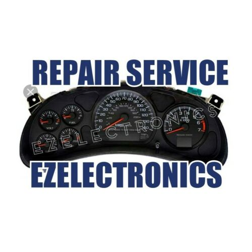 2000 TO 2005 CHEVROLET MONTE CARLO INSTRUMENT CLUSTER REPAIR SERVICE