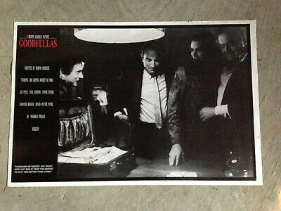 "Pesci Deniro Liotta Goodfellas movie 24/"" x 36/"" poster"