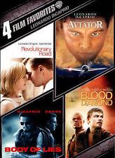 Leonardo DiCaprio: 4 Film Favorites Aviator Body Of Lies (DVD, 4-Discs) WS/FS