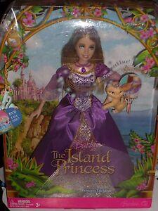NEW 2007 BARBIE THE ISLAND PRINCESS SINGING PRINCESS LUCIANA DOLL!!