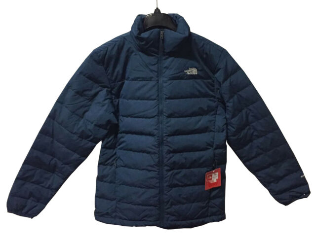 The North Face Men S Broza 550 Goose Down Jacket Dark Blue Small