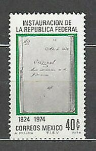 Mexico - Mail 1974 Yvert 810 MNH
