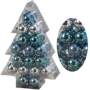 Christbaumkugeln Blau.Details Zu 34 Weihnachtskugeln 6cm Christbaumkugeln Kugel Dekokugel Ice Blau Türkis Silber
