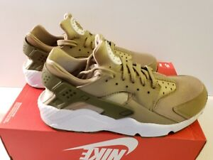 more photos aa199 ce976 Image is loading NIKE-AIR-HUARACHE-RUN-SZ-10-KHAKI-MEDIUM-