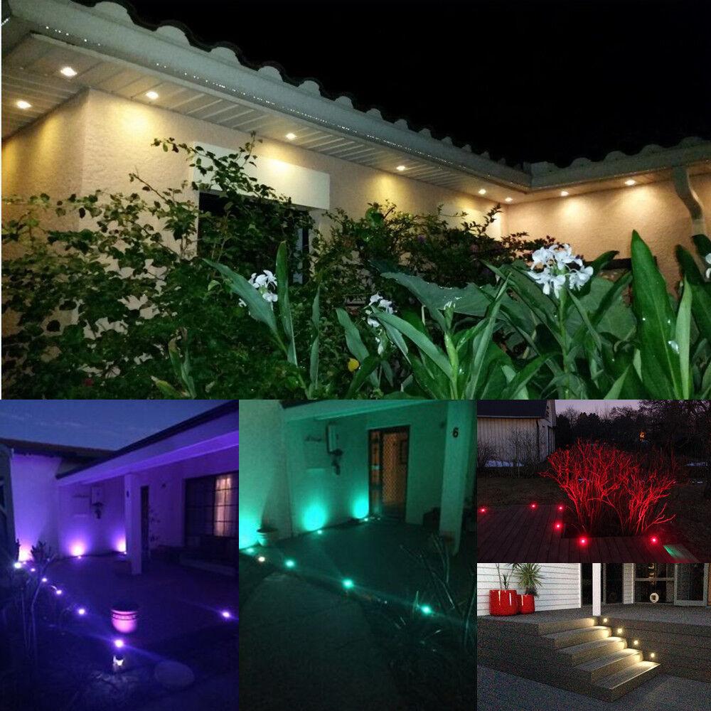 6-30er Set WIFI Timer Garten Terrasse LED Einbaustrahler Außenlampe Außenlampe Außenlampe Bodenstrahle 5faf00