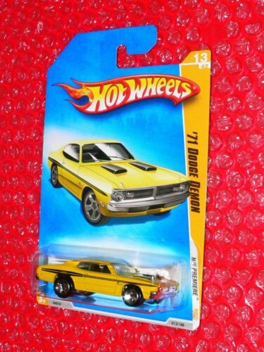 2009 Hot Wheels  '71 Dodge Demon #13  HW Premiere yellow N4016-A719