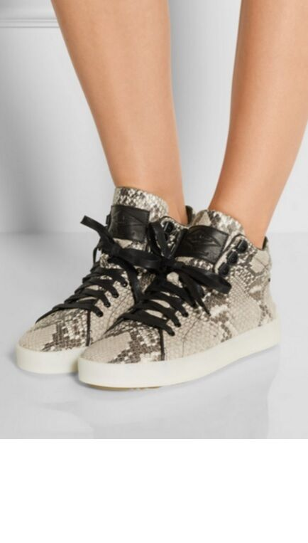 Rag & Bone Python Python Python Leather Kent High Top baskets Taille 36 47237d