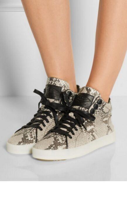 grande sconto Rag & Bone Python Leather Kent High Top scarpe da da da ginnastica Dimensione 36  la migliore moda