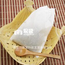 "eBags- 50pcs (XXL) 5""x7"" 12x17cm, Drawstring Empty Teabags, Black Tea Bags"
