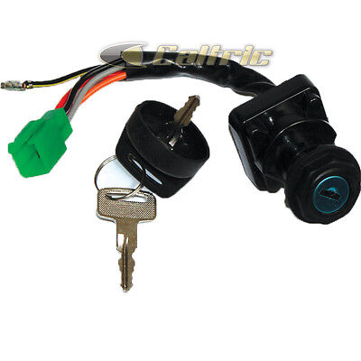 IGNITION KEY SWITCH FITS SUZUKI LTF250 LT-F250 LTF250F QUAD RUNNER 250 1999-2002