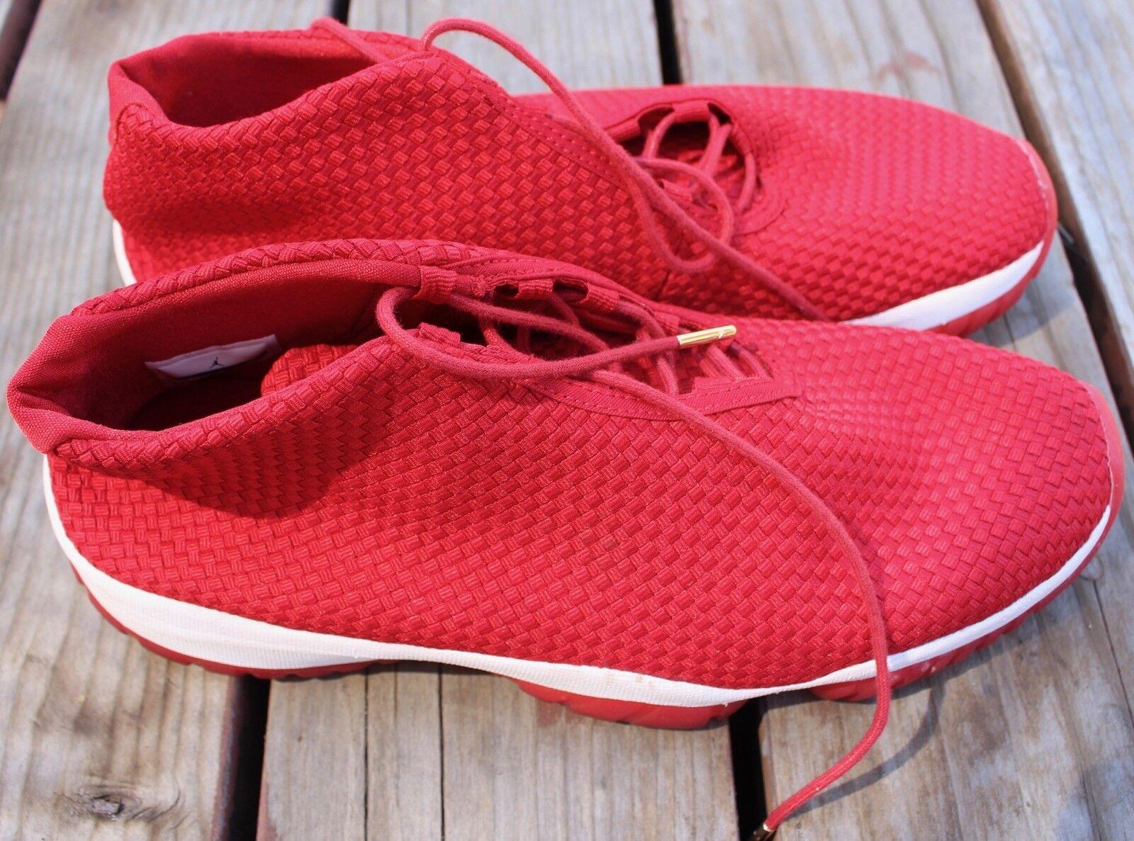 Nike Air Jordan Future Shoes 656503-601 Gym Red White w/ Original Box Comfortable Brand discount