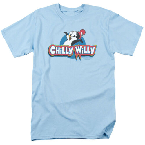 Chilly Willy Penguin Funny Cartoon Character Logo Adult T-Shirt Tee