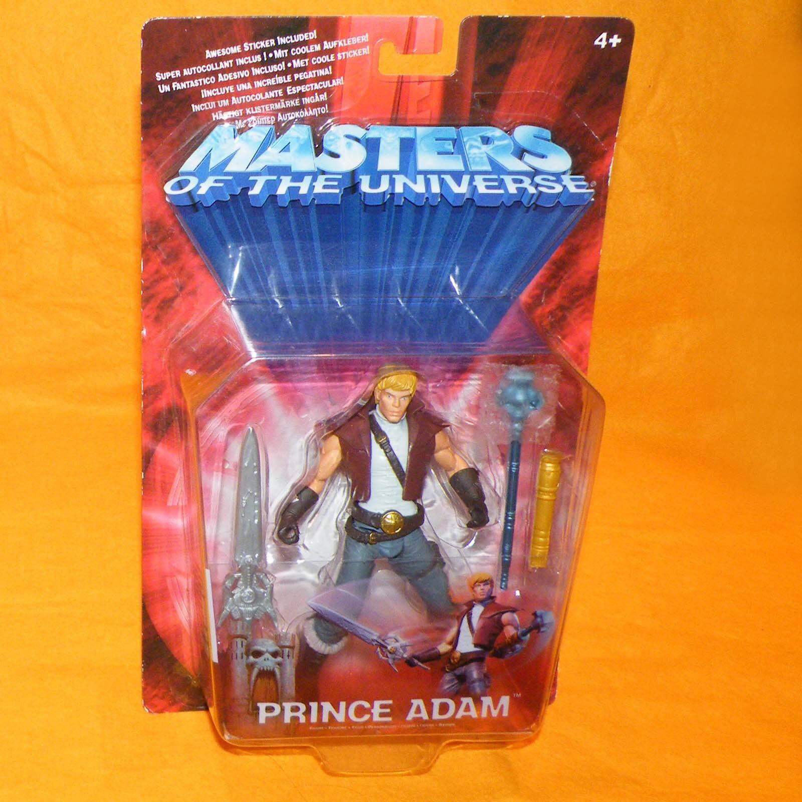 2002 MATTEL MODERN SERIES MOTU HE-MAN MASTERS OF THE UNIVERSE PRINCE ADAM MOC